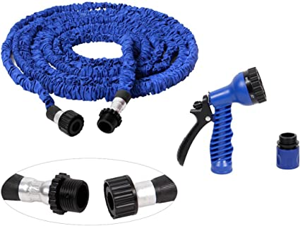 Gartenschlauch flexibel dehnbar Wasserschlauch Flexschlauch Multifunktionsbrause