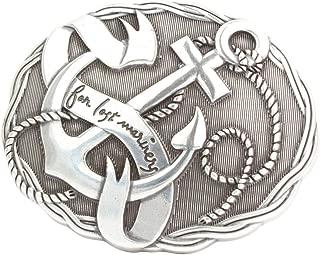 F/ür Wechselg/ürtel bis zu 4cm Breite Buckle Wechselschlie/ße G/ürtelschlie/ße 40mm Massiv Brazil Lederwaren G/ürtelschnalle Angels 4,0 cm