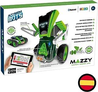 Mazzy - Xtrem Bots Robot Juguete para Montar, Kit Robotica, Juego Construccion De Robots para Niños, Programable, Educativ...