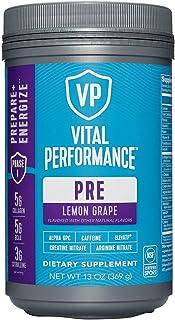 Vital Performance PRE Pre-Workout - Lemon Grape