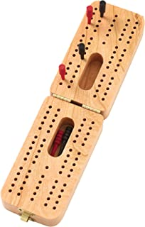 Folding Standard Cribbage Board - Made in USA