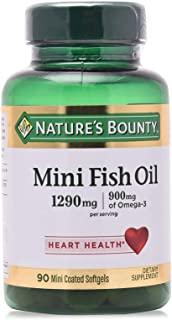 Nature's Bounty Fish Oil 1290 mg - 90 Capsules