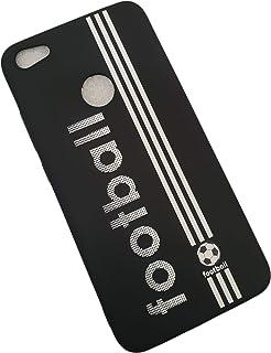 حافظة هاتف شاومي ريدمي نوت 5 ايه برايم من السيليكون الناعم تي بي يو بتصميم ثلاثي الابعاد - ابيض
