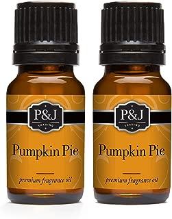 Pumpkin Pie Fragrance Oil - Premium Grade Scented Oil - 10ml - 2-Pack
