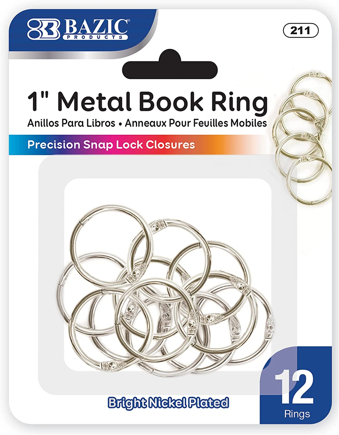 BAZIC Loose At the price of surprise Leaf Binder Tucson Mall Ring Rings 1