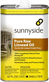 natural raw linseed oil