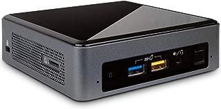 Intel NUC 8i7BEK Mini Desktop, Intel Quad-Core i7-8559U Upto 4.5GHz, 16GB RAM, 256GB SSD, HDMI, Thunderbolt 3, Card Reader, Wi-Fi, Bluetooth, Windows 10 Pro