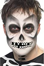 Skeleton Make-up Kit van 4 Halloween weiss schwarz...