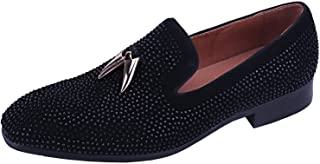 mens suede loafer shoes