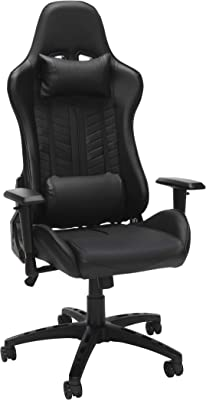 OFM Essentials Racing Style Gaming Chair Black