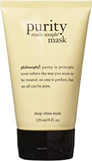 Philosophy Purity Made Simple Deep-Clean Mask for Unisex 4 oz Mask