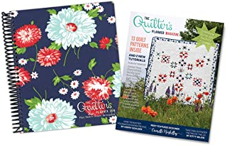 The Quilter's Planner 2019 Monthly and Weekly Planner Journal, 8