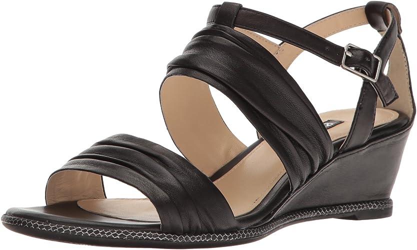 Ecco Wohommes Wohommes Rivas 45 II Wedge Sandal, noir, 41 EU 10-10.5 M US