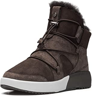 Aumu Sheepskin Cross Elastic Bnad Metal Short Ankle Fur Wool Lining Winter Snow Boots