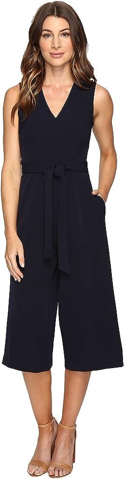 Christin Michaels Shyloh Chiffon Dress With Waist Tie