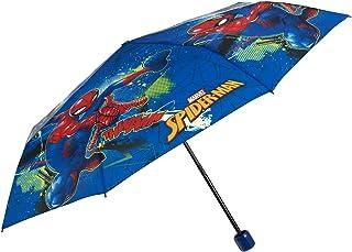 Parapluie Pliant Spider Man pour Enfants 7 + Ans - Ombrelle Enfant Garçon Résistant Ultra Léger Super Héros Marvel - Petit...