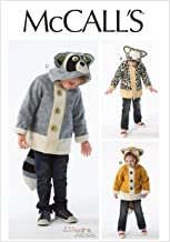 McCall Pattern Company M6828 Children's/Boys'/Girls' Coats Sewing Template, Size CL