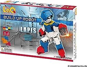 LaQ Buildup Robot LAPIS - 4 Models, 310 Pieces - Creative Construction Toy