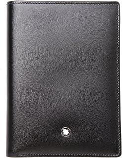 MONTBLANC Meisterstück Men's Wallet - Black, 12 cm, 35798