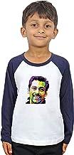 LIMIT Fashion Store - Salman Khan 3D Sketch Kids T-Shirt Casual Printed Colored Cotton T-Shirt(Boys & Girls)