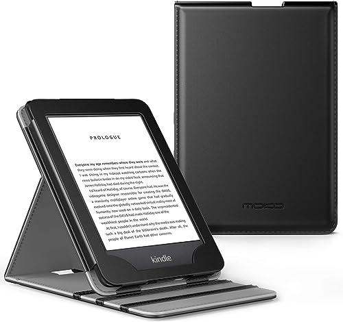 MoKo Étui Compatible avec Liseuse Kindle(10ème génération 2019 et 8ème génération 2016), étui de Retournement Vertica...