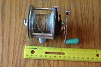 Penn No. 180 Fishing Reel with green Handle For Vintage