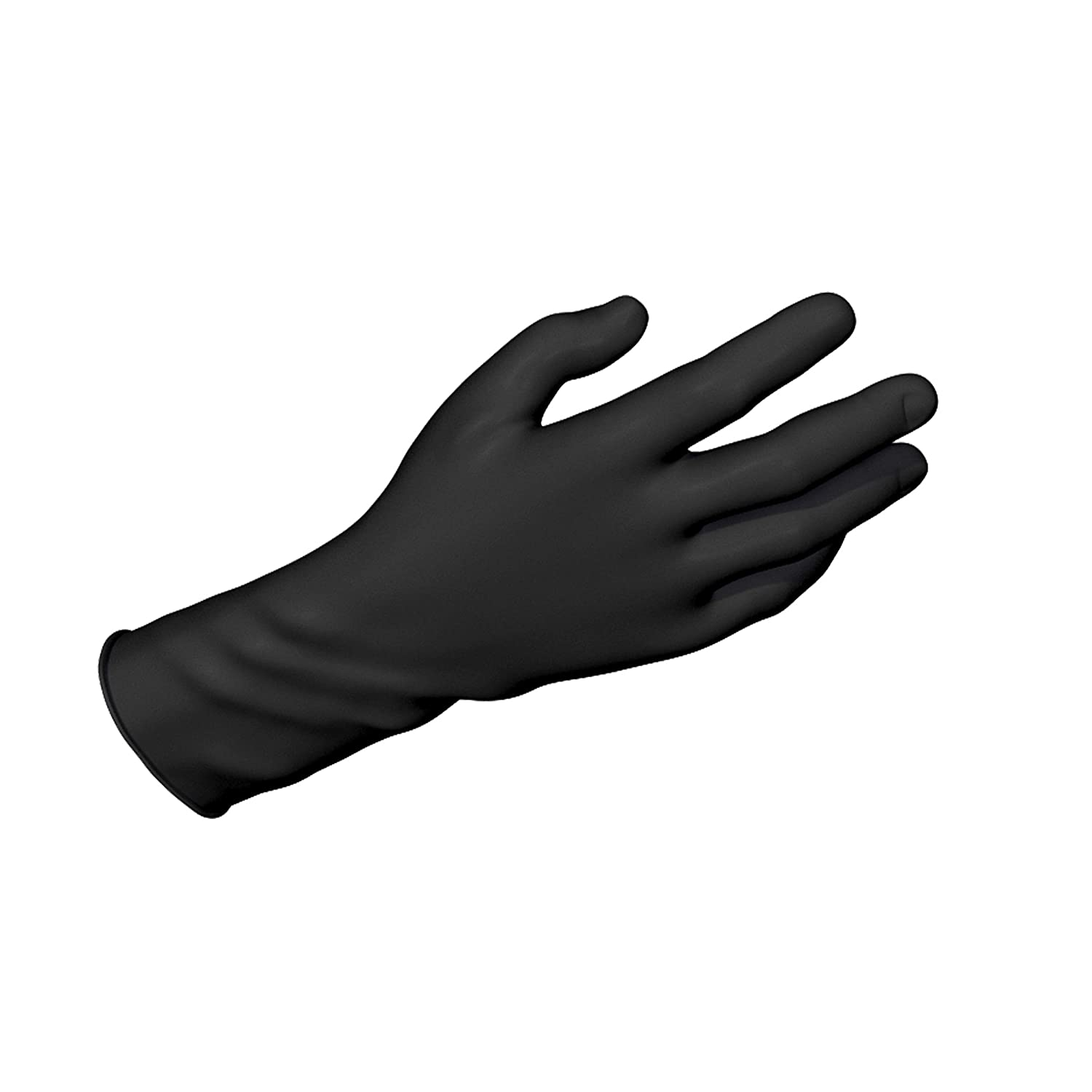 Dynarex Safe-Touch Black New sales Disposable Gloves Nitrile Bombing free shipping Exam Powder-