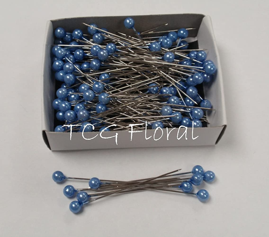 Blue Pearl Corsage / Boutonniere Pins 2