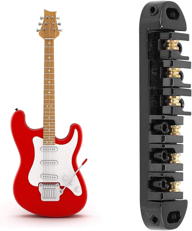 Fybida con Puente de Guitarra eléctrica de Rueda Loca de latón para reemplazar cordales de Puente de Guitarra Desgastados, dañados o Viejos