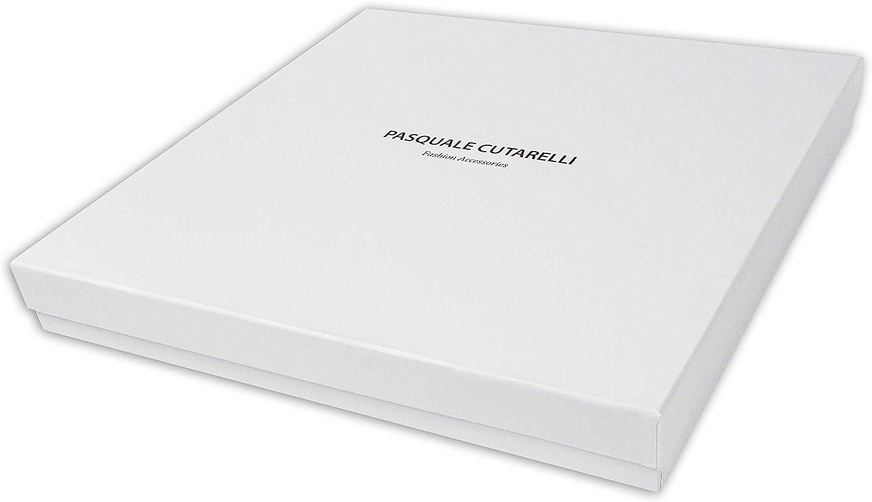 Pasquale Cutarelli Sciarpa Uomo Donna Dress Stewart Tartan in Lana con Confezione Regalo