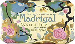 Claus Porto Madrigal Water Lily Soap for Unisex, 12.4 Ounce