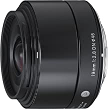 Sigma 19mm f/2.8 DN Lens for Sony NEX E-mount Cameras (Black)