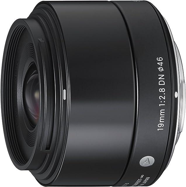 Sigma 19 mm F2.8 DN MFT Art - Objetivo para cámaras Digitales sin Espejo Micro Cuatro Tercios Negro