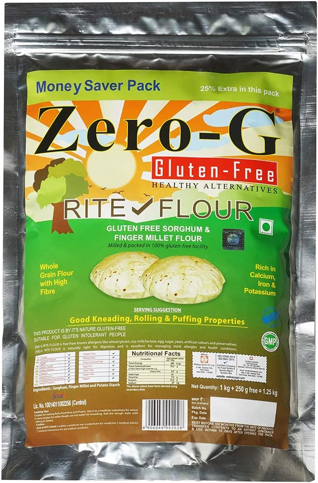 Zero-G Rite Flour Max 48% OFF Ranking integrated 1st place - 1.25kg