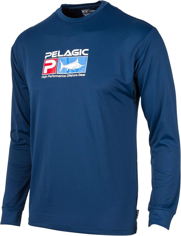 PELAGIC Aquatek Performance store Fishing Free shipping / New Shirt