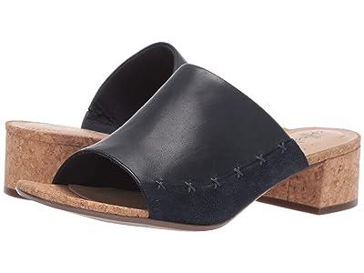 Clarks Elisa Abby (Navy Leather/Suede Combi) High Heels