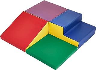 AmazonBasics Kids Soft Play Corner Climber, 4-Piece