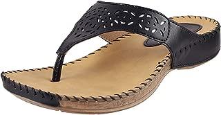 Metro Women's Black Fashion Sandals-7 UK/India (40 EU) (32-7812-11-40)