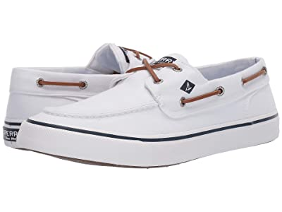 Sperry Bahama II Oxford Shirt Sneaker (White) Men