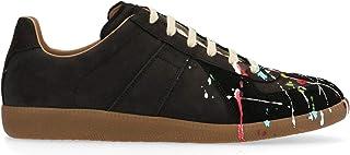 Maison Margiela Luxury Fashion Uomo S57WS0240P1892963 Nero Pelle Sneakers   Stagione Permanente
