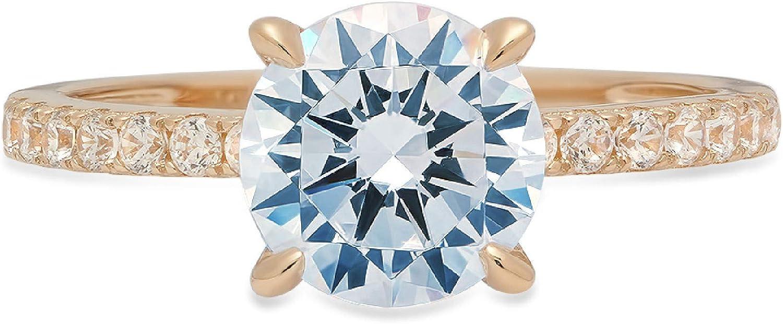 1.58ct Brilliant Round Cut Limited time sale Solitaire Gem Natural Sky Topaz Our shop most popular Blue