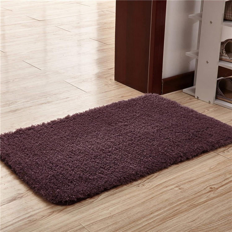 Oval bathroom absorbent non-slip carpet door mat floor mats-N 120x160cm(47x63inch)