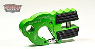 Factor 55 UltraHook Winch Hook with Shackle Mount - Monster Green