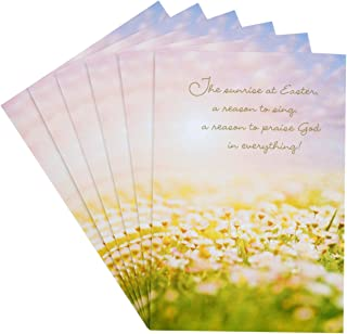 Hallmark DaySpring Pack of Religious Easter Cards, Joyful Easter Blessings (6 Cards with Envelopes)