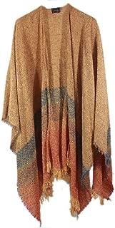 Women's Ruana Wool 54 Inches x 72 Inches Made in Ireland