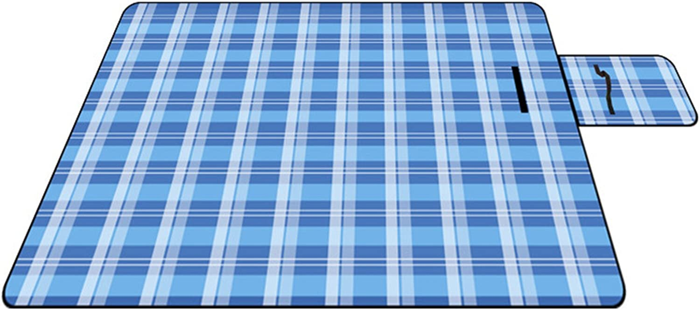 RFVBNM Suede Waterproof Picnic mat Outdoor Camping Folding Picnic Blanket 150200cm