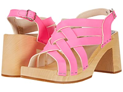 Swedish Hasbeens Vivi (Neon Pink) Women
