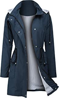 ZEGOLO Women's Raincoats Windbreaker Rain Jacket...
