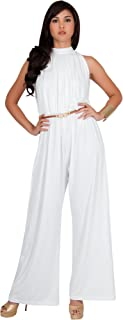 Womens Sexy Sleeveless Wide Leg Pants Cocktail Pantsuit Jumpsuit Romper