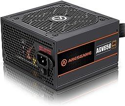 پاور ARESGAME 650 وات با استاندارد +80 برنز بدون مولار